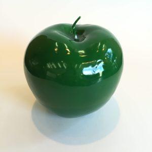 Bitossi Deko Kerze Apfel green