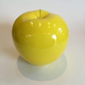 Bitossi deko Kerze Apfel gelb