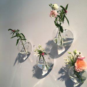 Serax Wandvase aus Glas klein