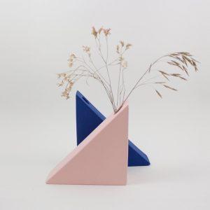Vase Triangle von Romina Gris