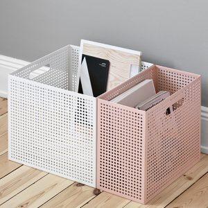 The Box aus Lochblech von NakNak für Authentics, klein