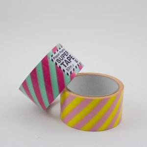 Supertape – farbenfrohes Paketklebeband gestreift