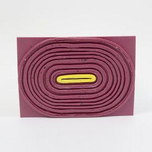 Post Modern Tribe O, rosa-gelb, Tijs Gilde