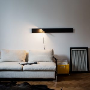 Wandlampe PIAZZA linear von from lighting