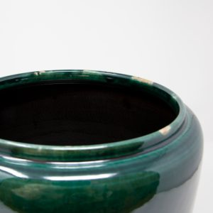 Keramik Blumentopf im Vintage Look
